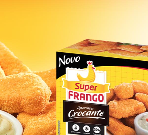 Embalagem Empanados Crocantes Super Frango