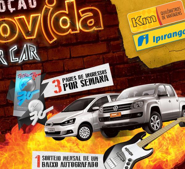 Promoção Movida Rock car